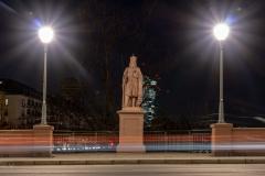 Karl der Große-Statue  auf der Alten Brücke