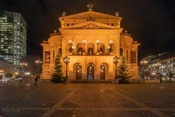 weihnachtliche Alte Oper