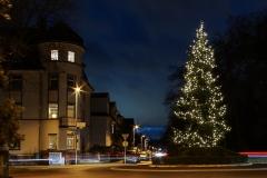 weihnachtlicher Kreisel in Neu-Isenburg