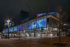 illuminiertes Schauspielhaus