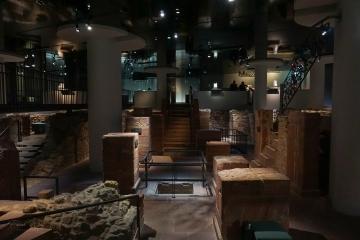 Grundmauern der Judengasse