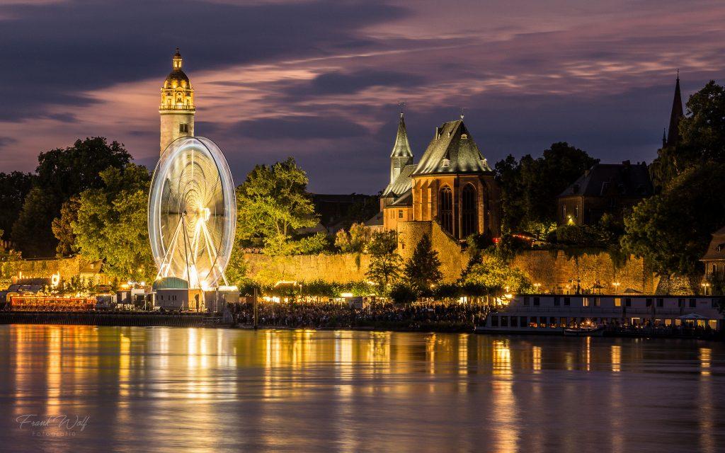 Höchster Altstadt am Mainufer - Höchster Schlossfest 2018