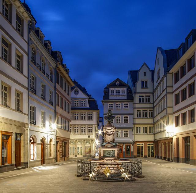 Hühnermarkt -  Friedrich-Stoltze-Brunnen