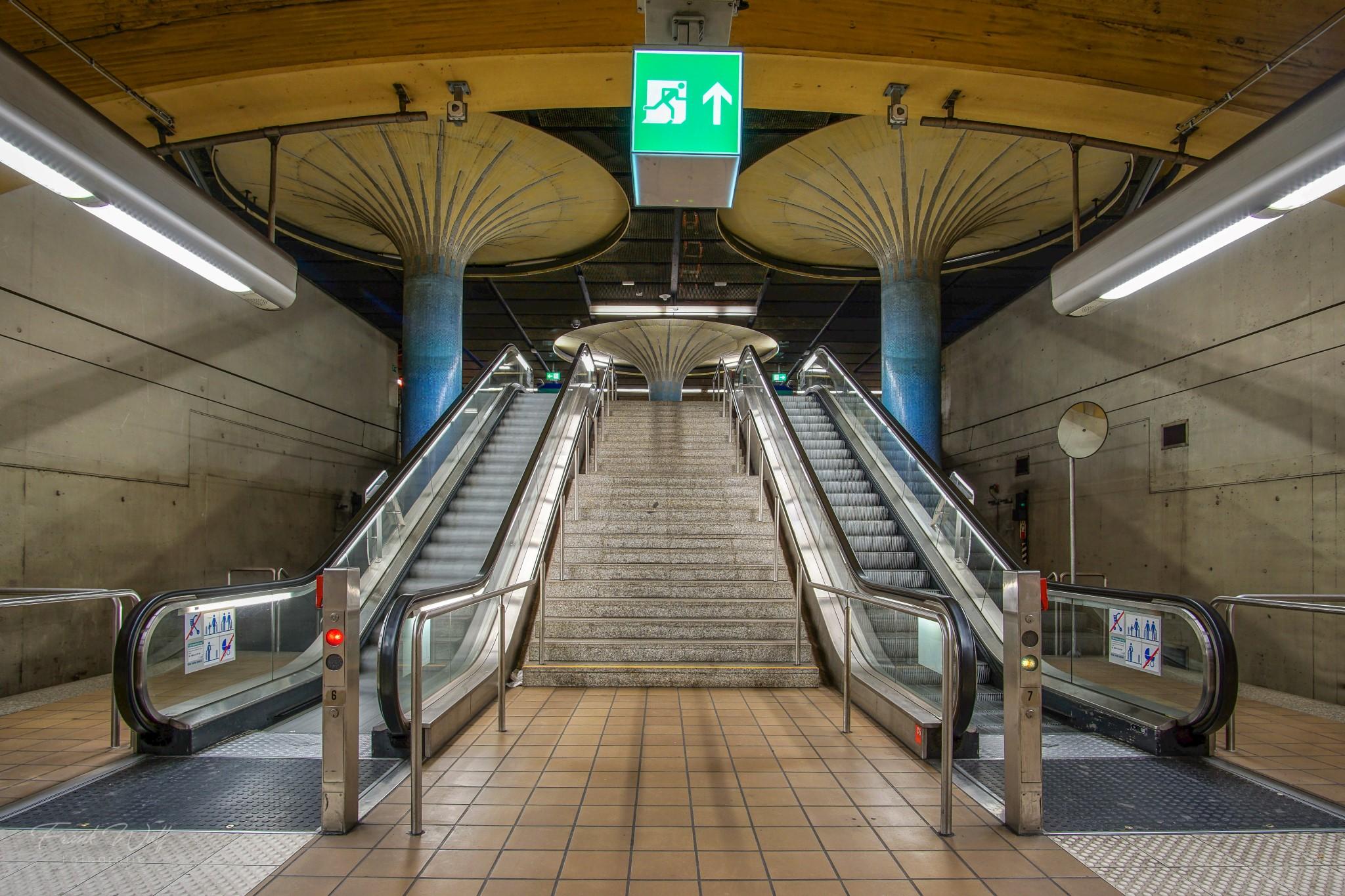Ubahn Station Alte Oper