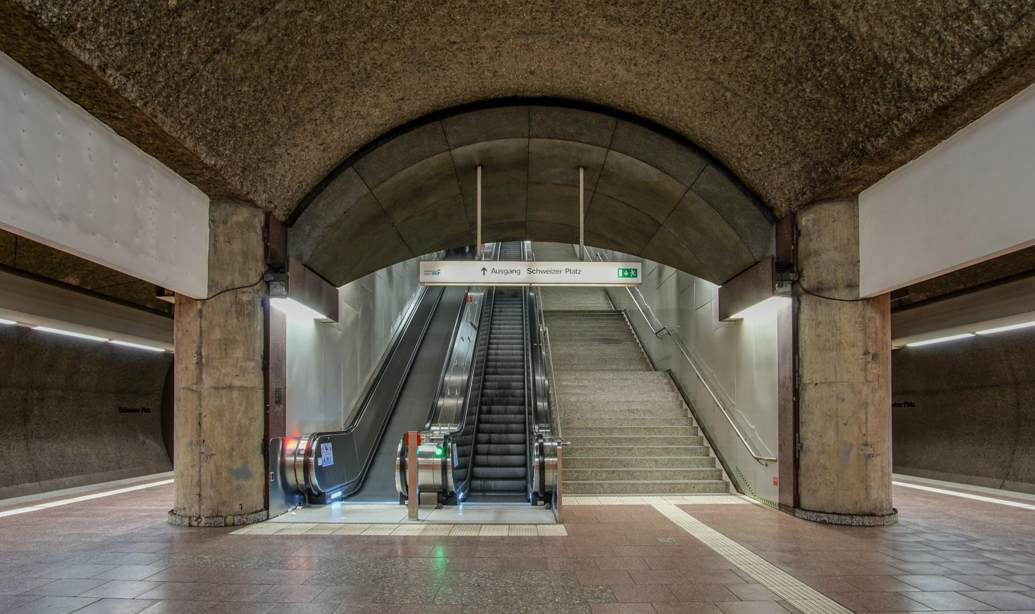 Ubahn Station Schweizer Platz
