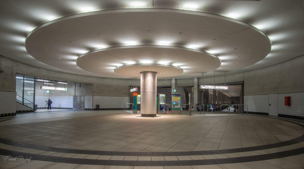 Ubahn Station Bockenheimer Warte