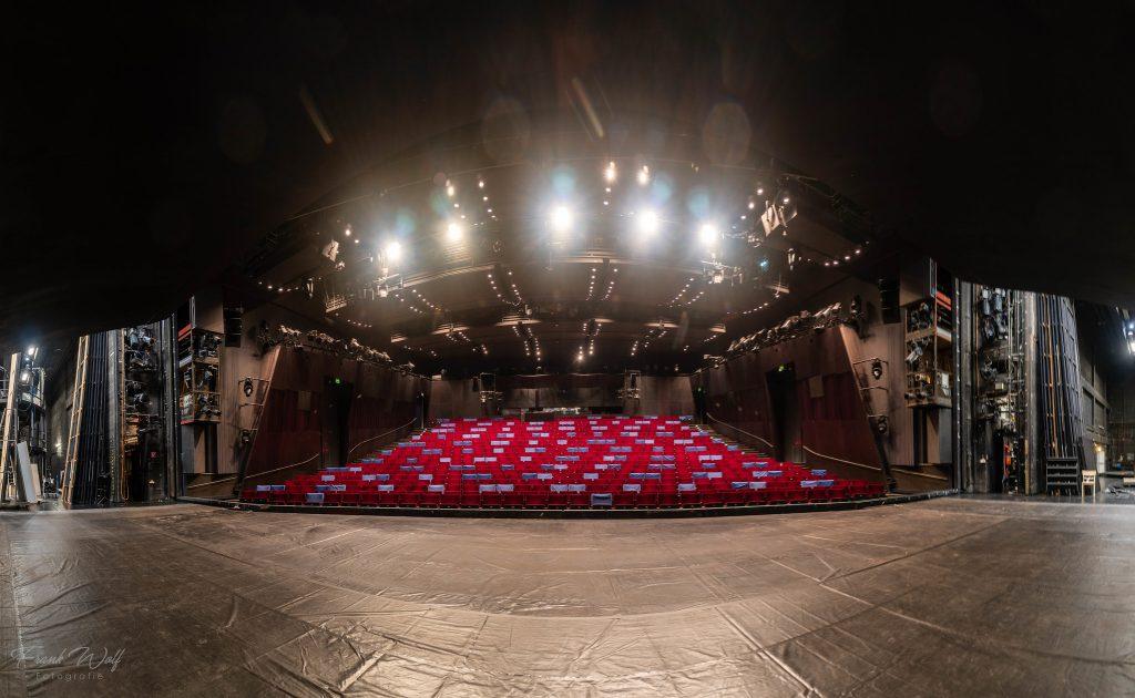 Hinter der Bühne vom Schauspiel Frankfurt